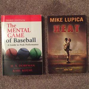 2 Books For $13 Genre: Sports/baseball